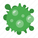 bacteria, disease, illness, infection, medical, medicine, virus icon