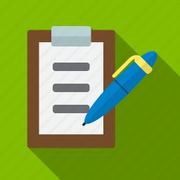 checklist, document, medicine, pen, pencil, plan, write icon