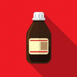 bottle, chemistry, medical, medicament, medicine icon