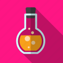 bottle, chemistry, medicine, test, tube icon