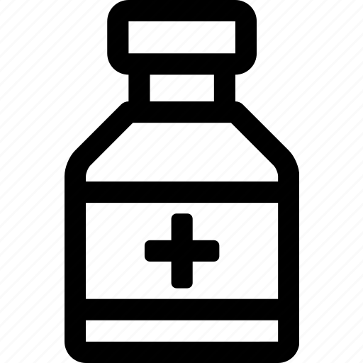 bottle, doctor, drugs, health, hospital, medicine, pills icon