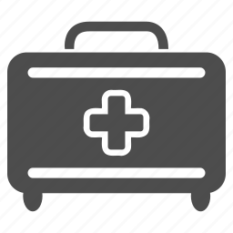 bag, baggage, briefcase, first aid, luggage, medical, suitcase icon