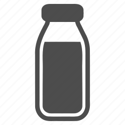 beverage, bottle, drink, glass, milk, phial, vial icon