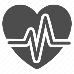 cardio, cardiogram, ecg, heart, heartbeat, life, pulse icon