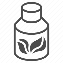 drugs, health, medical, medicine, natural, organic, vial icon