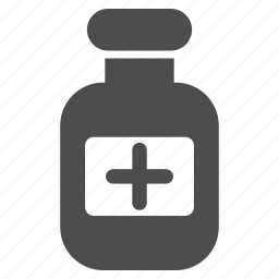 bottle, cure, drink, flask, phial, treatment, vial icon