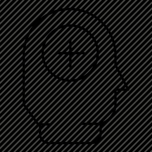 healthcare, medicine, person, profile, user icon