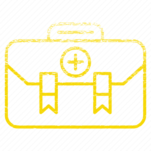 aid, baggage, briefcase, care, chest, first icon