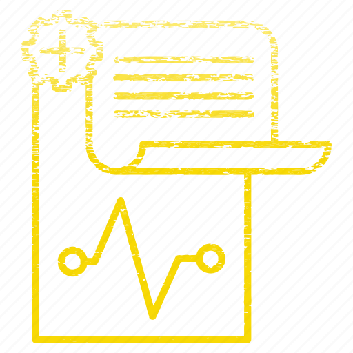 history, medical, note, paper, survey icon