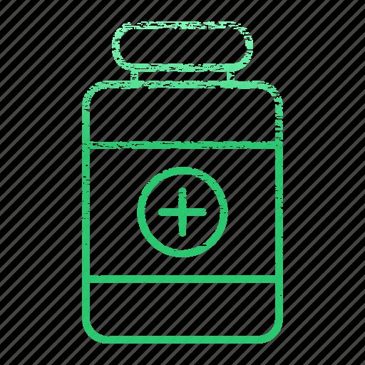 bottle, drug, drugs, medication, medications, medicine icon