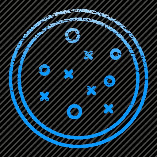 bacteria, dish, petri, research, science icon