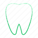 dental, dentist, medical, orthodontic, orthodontics, tooth icon