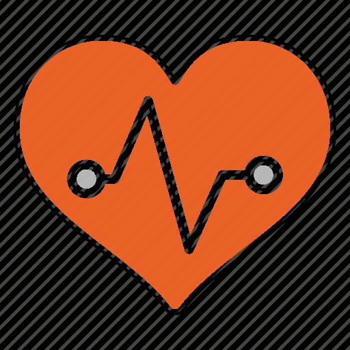 aid, cardiogram, care, doctor, healthcare, medicine, treatment icon