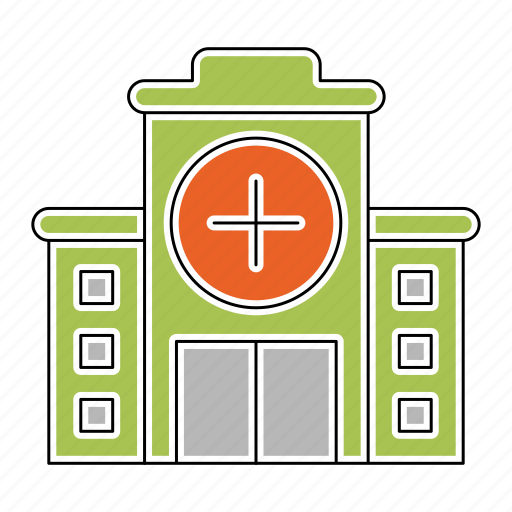 Building, construction, doctor, emergency, healthcare, hospital, medicine icon - Download on Iconfinder