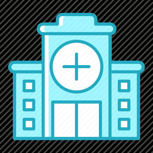 building, construction, doctor, emergency, healthcare, hospital, medicine icon