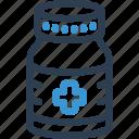 bottle, drug, hospital, medical, medicine, pharmacy, pill