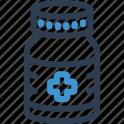 bottle, drug, hospital, medical, medicine, pharmacy, pill icon