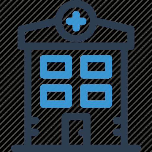 building, emergency, hosp, hospital, medical, medicine, pharmacy icon