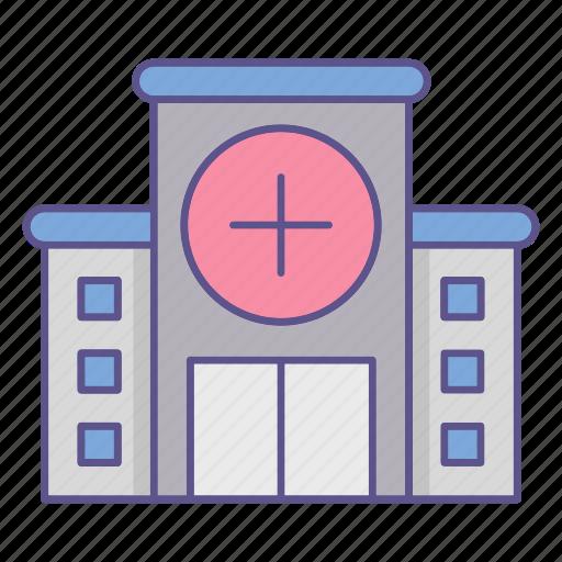 building, hospital, medecine icon