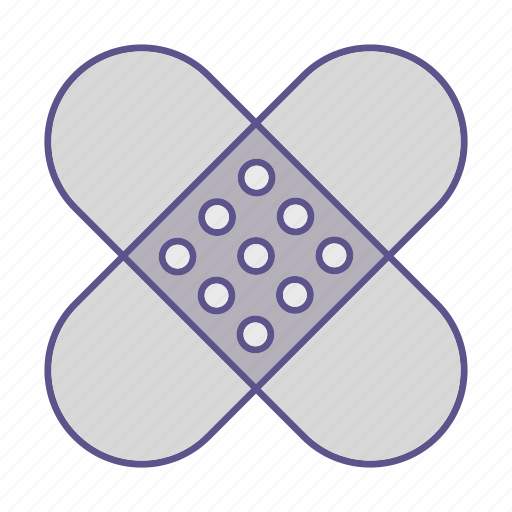 medecine, patch, protection icon