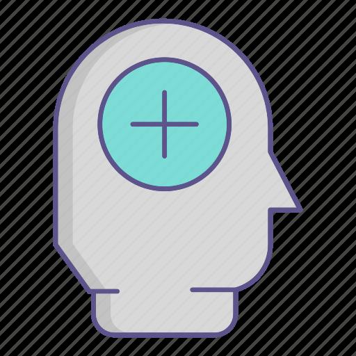 head, medecine, mental, user icon