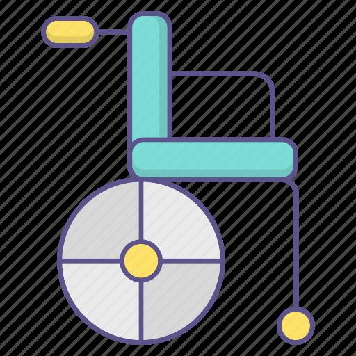 disability, handicap, medecine, wheelchair icon