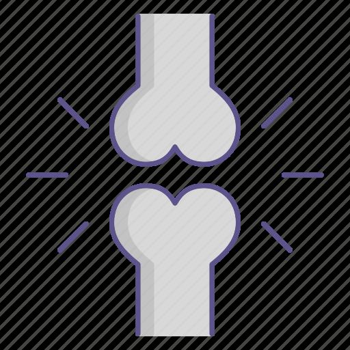 Femur, medecine, skeleton, broke icon