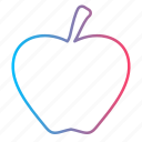 appel, fruit, healthcare, medicine icon