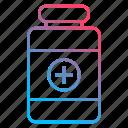 medical, medicine, pills, treatment icon