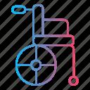 handicap, handicapped, medicine, paralympics, wheelchair icon