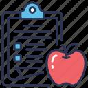 diet, diet chart, diet plan, fitness, food chart, health, plan icon