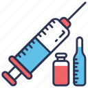 hospital, injection, liquid, medical, syringe, vaccination, vaccine