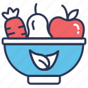 diet, food, healthy, healthy food, nutrition, salad, vegetables icon
