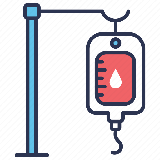 bag, blood, donation, dropper, medical, transfusion, transfusion blood icon