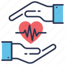 care, health, healthcare, heart, love, medical, treatment icon