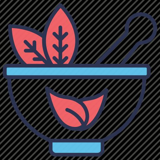 ayurveda, ayurvedic, herbal, natural, pestle icon