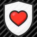 beat, heart, hospital, medical, protection, shield