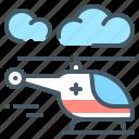 medicine, emergency, helicopter