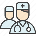 doctor, healthcare, medical assistant, physician, physicians icon