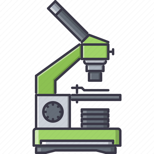disease, hospital, laboratory, medicine, microscope, study, treatment icon