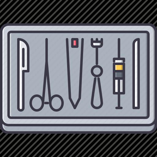 disease, hospital, medicine, surgeon, surgery, tool, treatment icon