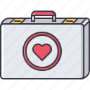 aid, case, first, hospital, kit, medicine, treatment icon