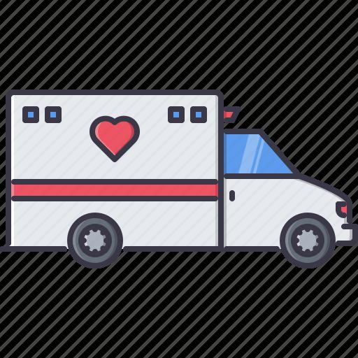 aid, car, disease, first, hospital, medicine, treatment icon