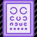 medical, medicine, oculist, ophthalmology, optometrist, pharmacy, table icon