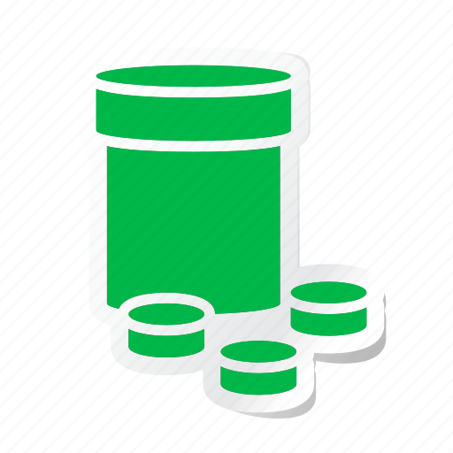 drug, healthcare, medication, medicine, medicine jar, pharmaceutical, tablet icon