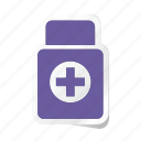 drug, healthcare, medicine, medicine pills container, pharmaceutical, tablet icon