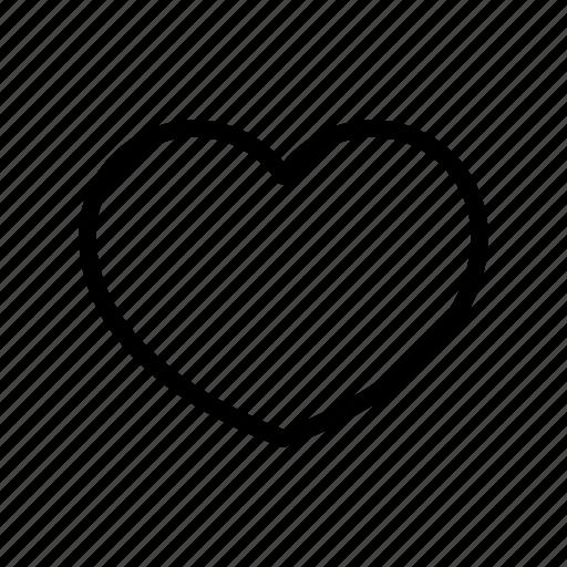bookmark, favorite, favourite, heart, like, love, valentine icon
