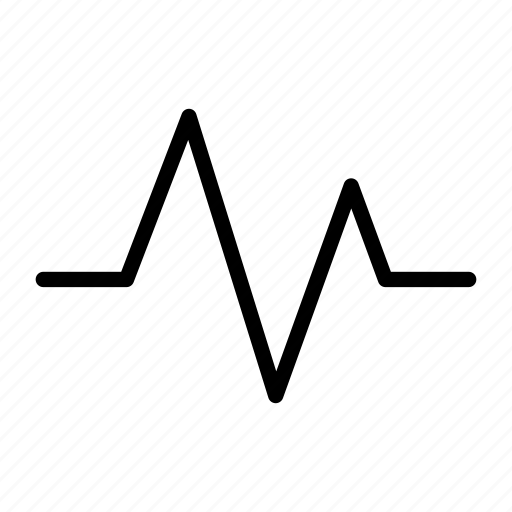 activity, cardiology, heart, heartbeat, line, pulse, wave icon
