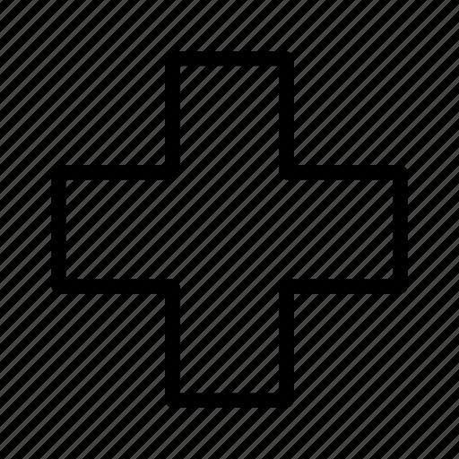 cross, health care, healthcare, hospital, medicine, pharmacy, plus icon