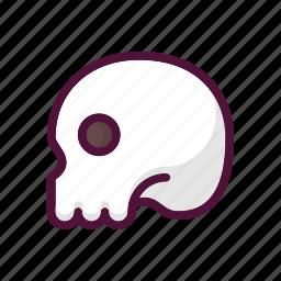 anatomy, bone, bones, dead, halloween, skeleton, skull icon